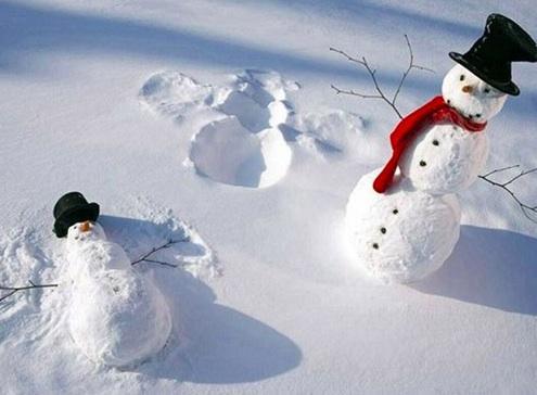 """En yaratıcı """"kardan adamlar"""""""