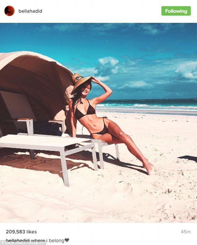 Bella'nın plaj özlemi: 'Ait olduğum yer'