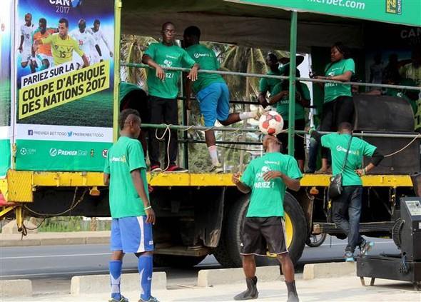 Bu görüntüler sadece Afrika Kupası'nda!..
