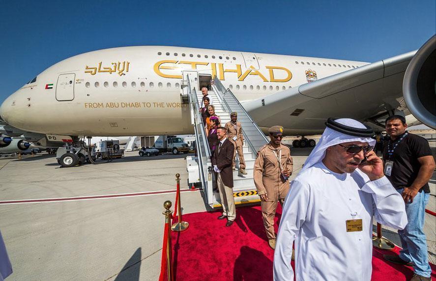 Böyle olur Arapların uçakları