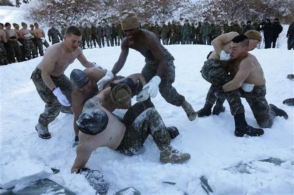 Kuzey Kore'ye karşı böyle hazırlandılar!