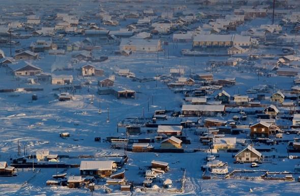 İşte dünyanın en soğuk köyü!