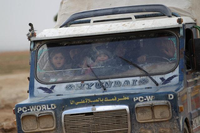 Dünya ajansları servis etti: El Bab'da Türk tankı