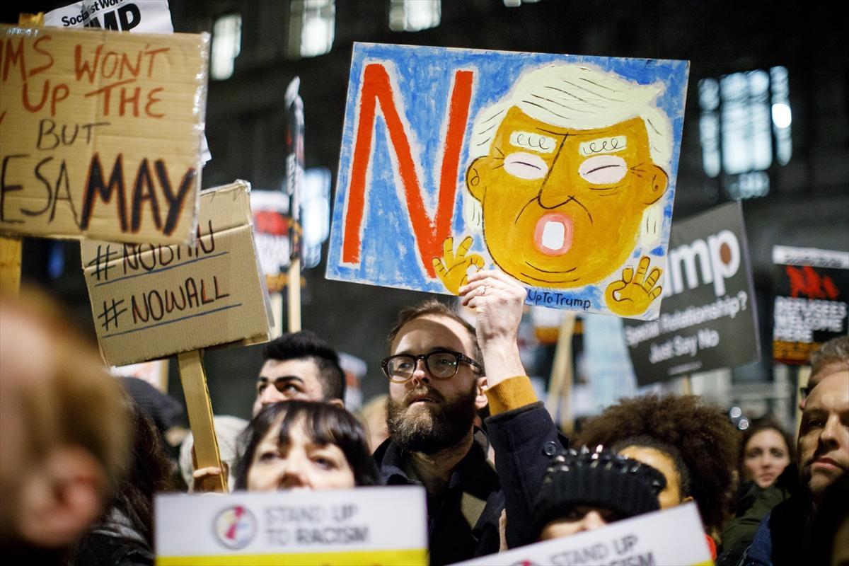 Trump'a dünyadan tepki yağıyor!