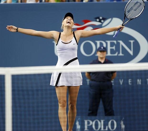 Maria Sharapova tatilde!