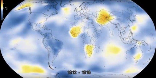 NASA'nın gözünden dünyanın 136 yılda değişimi