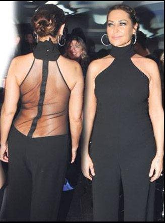 Hülya Avşar'ın giydiği cesur kıyafetler