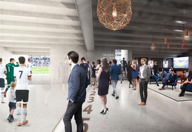 Tottenham'ın Yeni Stadyumu 2018'de Bitecek