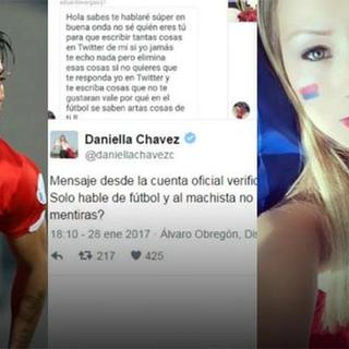 Daniella Chavez, Eduardo Vargas ile fena kapıştı!