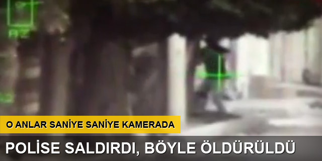 Hendek kapatan polise saldırı: 1 ölü