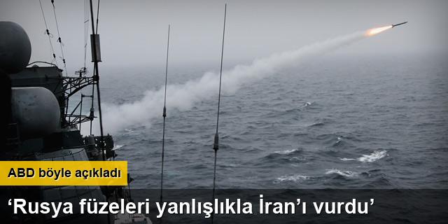 CNN: Rusya'nın Suriye'ye gönderdiği füzeler İran'a düştü