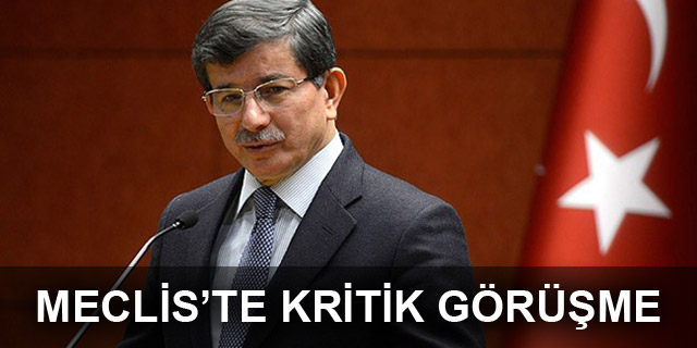 Başbakan Davutoğlu, Kılıçdaroğlu ve Bahçeli'yle görüştü