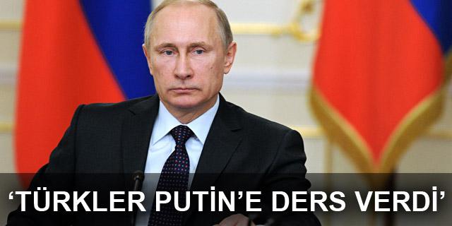 Daily Telegraph yazarı Con Coughlin: Türkler Putin'e ders verdi