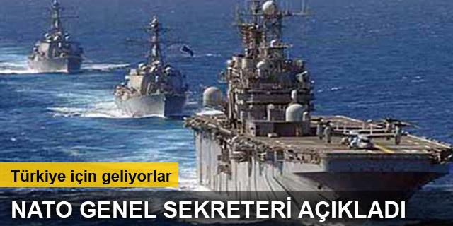 NATO, Türkiye için Akdeniz'e uçak ve savaş gemileri gönderiyor