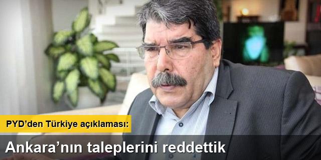 PYD'den 'Türkiye' açıklaması