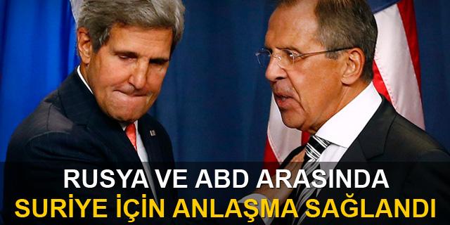 ABD ve Rusya Suriye'de ateşkes için uzlaştı