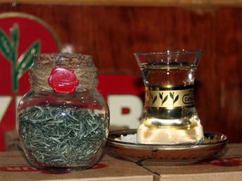 Zengin çayı 'Beyaz Çay'