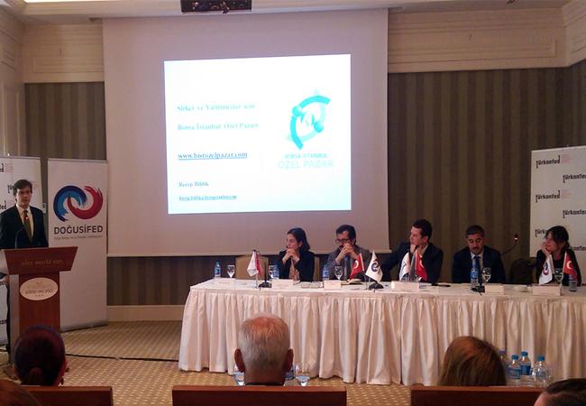 Borsa İstanbul Van'daki girişimcilere ve yatırımcılara Özel Pazar'ı anlattı