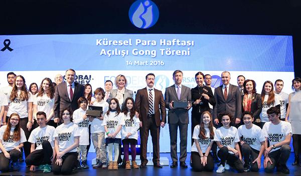 Küresel Para Haftası Gong Töreni ile başladı