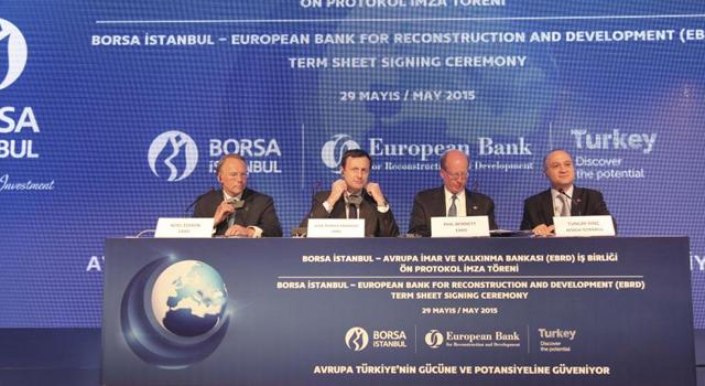 Avrupa İmar ve Kalkınma Bankası (EBRD) ile Borsa İstanbul arasında Büyük İş Birliği
