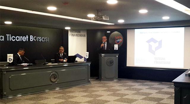 """VİOP ve Yatırım Finansman A.Ş iş birliği ile """"VİOP Ürünleri ile Kur Riski Yönetimi ve Opsiyon Stratejileri"""" semineri Antalya'da düzenlendi"""