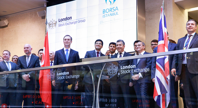 BIST 30 Türev Ürünleri Londra Borsası'nda İşleme Açılıyor