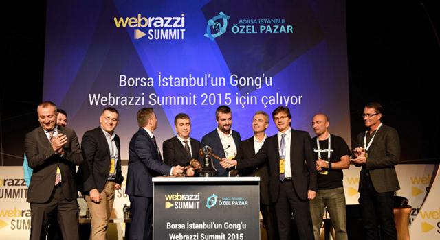Gong Webrazzi Summit için çaldı