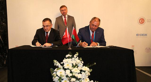 Beyaz Rusya Kalkınma Bankası ile Mutabakat Zaptı