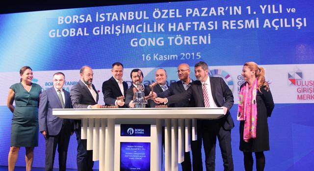 Borsa İstanbul Özel Pazar 1 Yaşında!