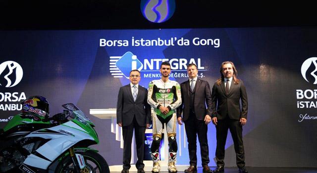 Borsa İstanbul Gongunu Kenan Sofuoğlu çaldı