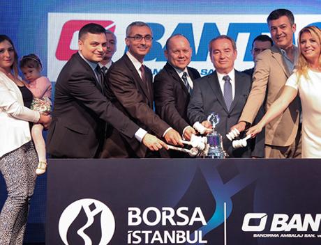 Borsa İstanbul'da Gong, Bantaş A.Ş. için çaldı