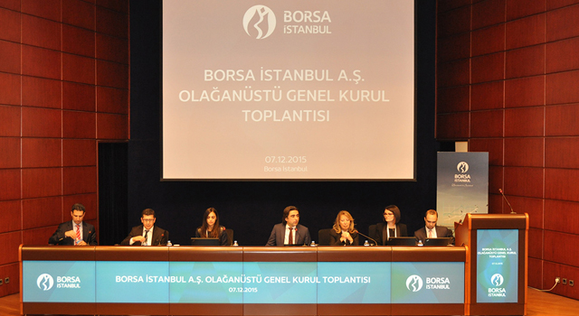 Borsa İstanbul, EBRD'ye Pay Devrini Onayladı