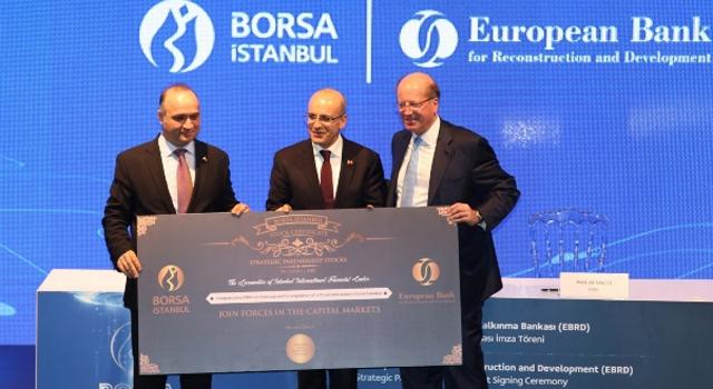 Borsa İstanbul ile EBRD stratejik ortaklık anlaşması