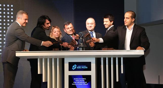 Borsa İstanbul Özel Pazar'da İki Yeni Yatırım