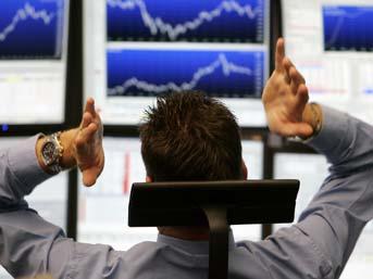 Borsa sert günü düşüşle kapattı