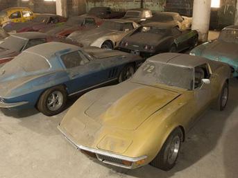 Milyon dolarlık koleksiyon garajda unutuldu