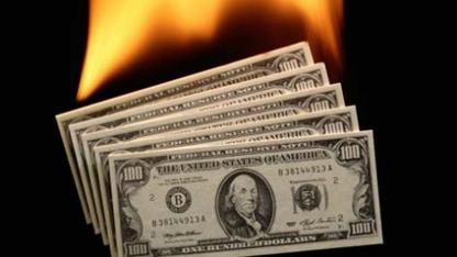Dolar kuru tarihi rekorunu yeniledi.