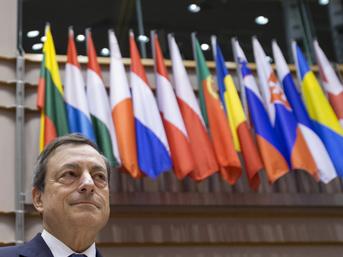 AMB Başkanı Draghi'ye saldırı