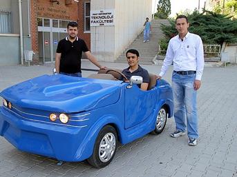 10 bin liraya elektrikli otomobil!