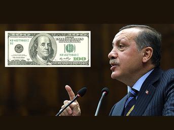 Erdoğan doları ateşledi