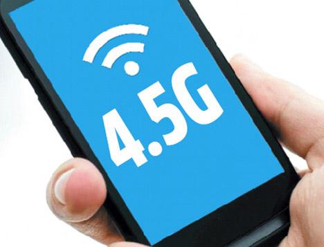 4.5G'ye uyumlu telefon ve tabletler
