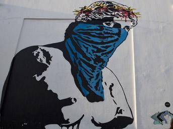 Yunanistan'da krizi özetleyen grafitiler