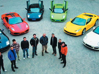 Çinli çocuklar bu arabaları kullanıyor
