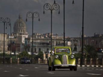 Küba'nın birbirinden harika klasik arabaları