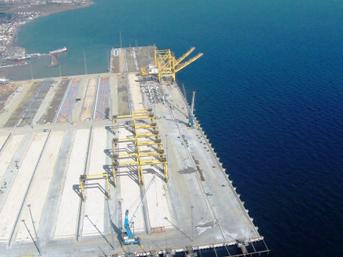 En büyük limanda sona gelindi