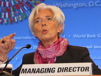 Lagarde: Talep edilirse yardım ederiz