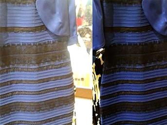 İşte rengi tartışılan elbisenin fiyatı!
