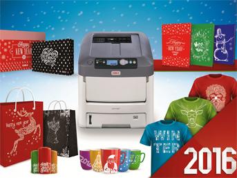 OKI'nin beyaz  tonerli yazıcıları ile kişiye özel yeni yıl hediyeleri