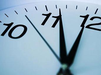 Saatlerinizi ayarlamayı unutmayın!