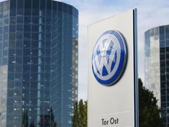 Volkswagen'e polis baskın yaptı